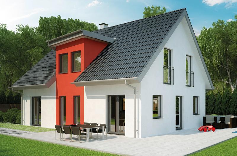 Satteldach 45 Grad Top Modernes In Wei Und Schwarz With Satteldach